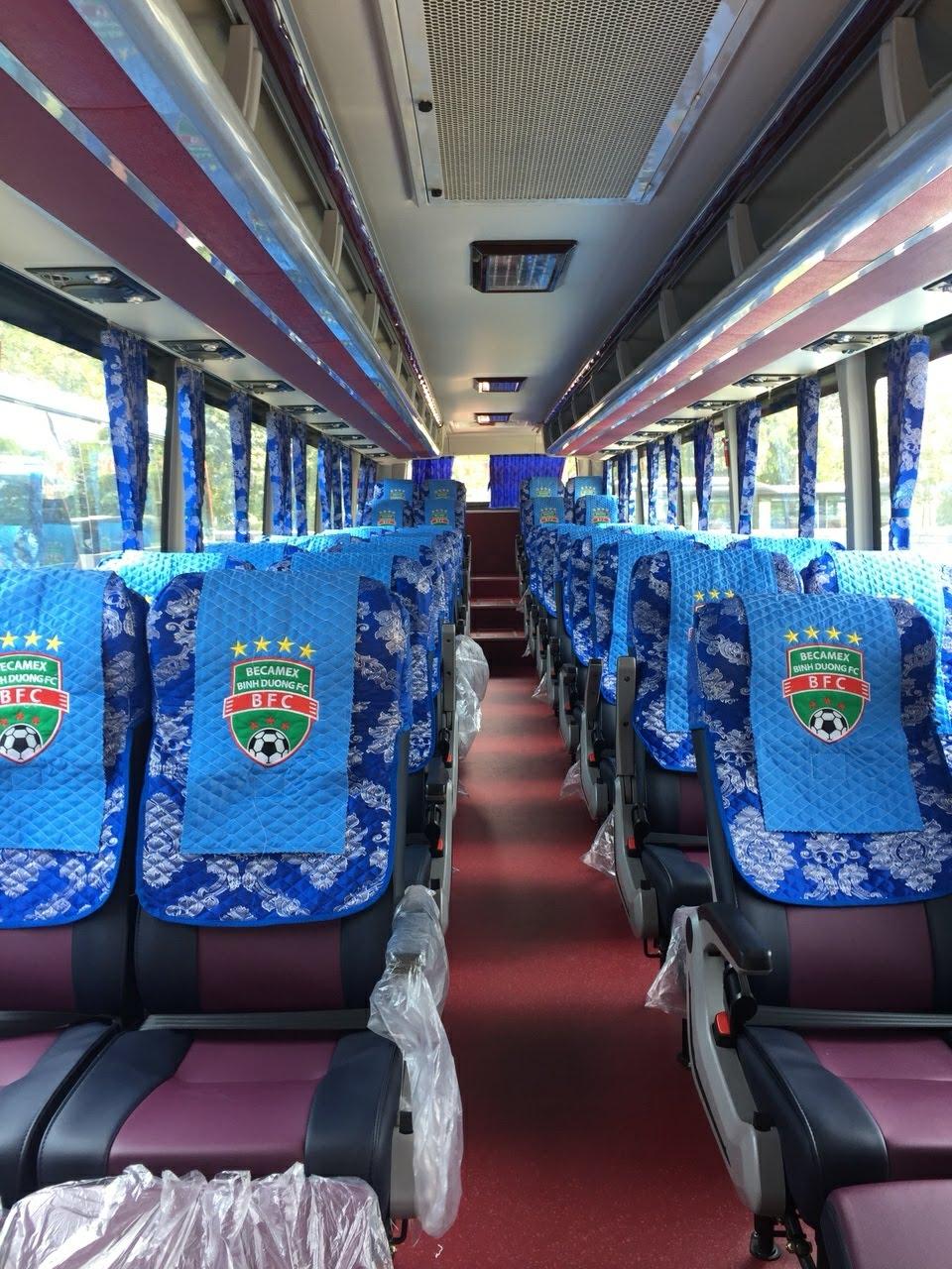 Áo ghế xe Samco 46 chỗ
