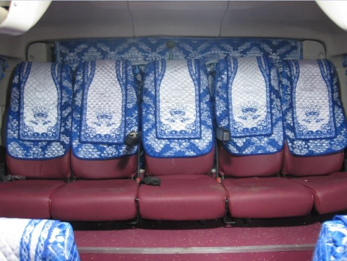 Áo trùm ghế xe khách