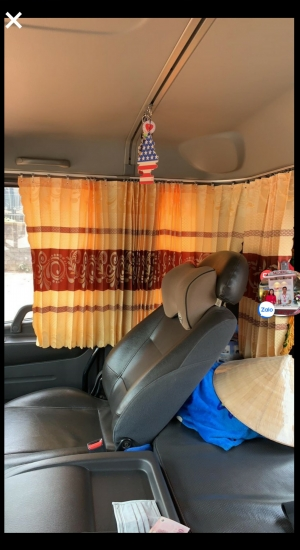 Rèm cabin cho xe tải