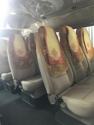 Áo trùm ghế xe khách 16 chỗ ford transit