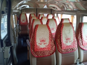 Áo ghế xe du lịch đời mới 16 chỗ fortransit