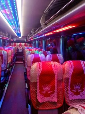 Áo ghế du lịch hãng Samco Buslines 29 chỗ