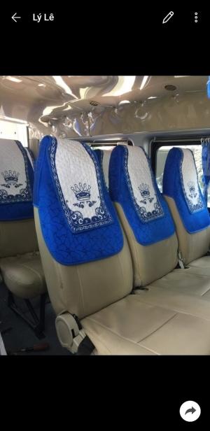 Áo ghế xe du lịch 16 chỗ potransit