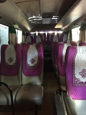 Áo ghế vải xe du lịch 16 chỗ ford transit