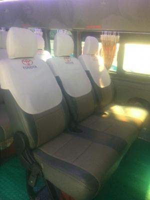 Áo ghế vải thun xe du lịch 7 đến 29 chỗ